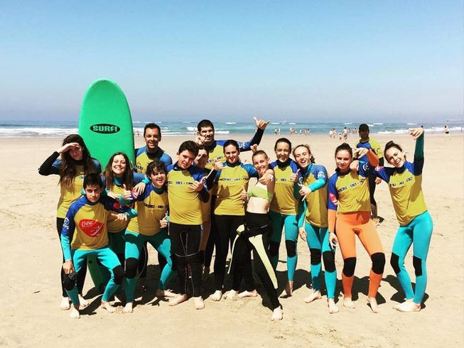 8 Days Budget Surf Camp in Caxias, Oeiras, Portugal