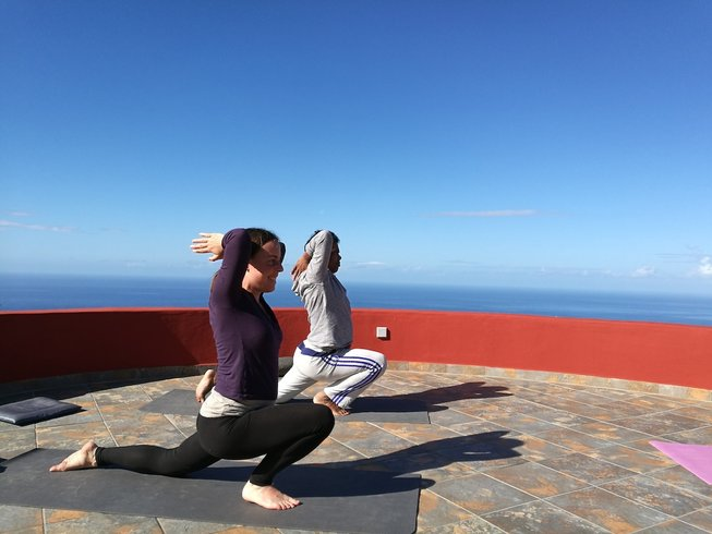 8 Tage Slow Flow Yoga und Detox Smoothie Woche auf La Palma, Spanien