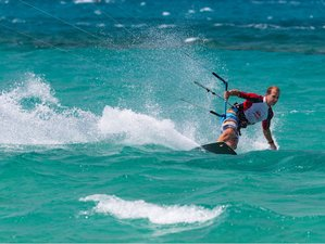 8 Days Beginner Kite Surf Camp in Naxos, Greece