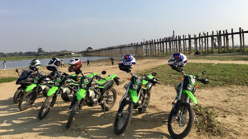 2 Days Mandalay Countryside Motorcycle Tour in Myanmar
