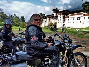 11 Days Royal Enfield Bhutan Motorcycle Tour