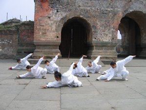 1 Month of Traditional Kungfu in Wudang Mountain, China