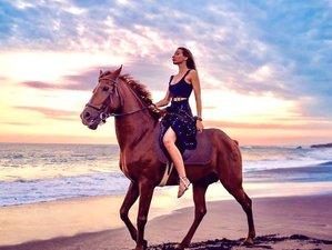 4 Day Epic Horse Riding, Surfing, Ancient Yoga & Hindu Cultural Awakening Holiday in Tabanan, Bali
