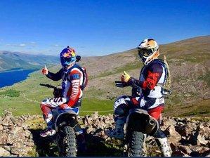 9 Day White Lake Guided Enduro Dirt Bike Tour in Mongolia 2021