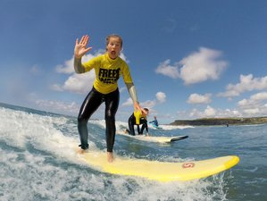 4 Days Weekend Yoga and Surf Holiday in Cornwall, UK