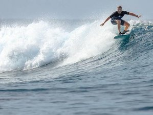8 Days Relaxing Surf Camp in Kaafu Atoll, Maldives