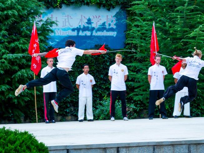 4 Years Advance Tai Chi & Kung Fu in Yantai, Shandong