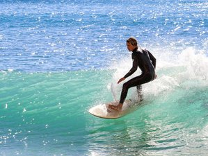 8 Day Green Wave Week Intermediate Surf Camp in Bensafrim, Lagos