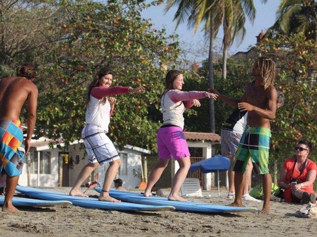 8 Days Surf and Yoga Retreat in Tamarindo, Costa Rica