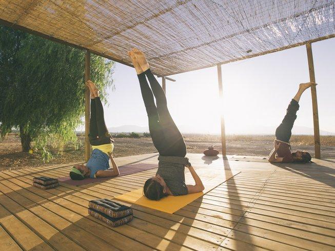 7 jours en stage de yoga et méditation en Andalousie, Espagne