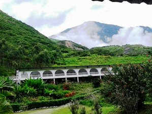 2 Day Train Devil's Nose and Nature Walk Tours at Waterfall of Panama in Huigra, Ecuador