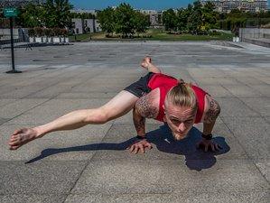 16 jours-50h en formation de yoga, équilibre et inversions en ligne
