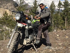 11 Day Adventurous Journey To Manang Guided Motorcycle Tour in Nepal