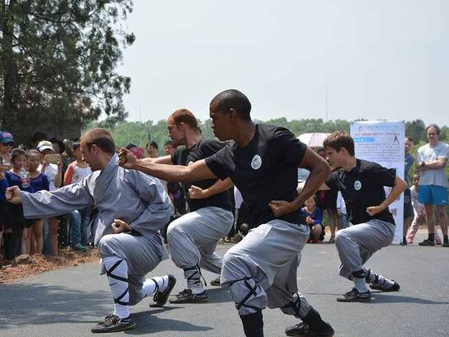 11 Months Authentic Shaolin Kung Fu Training in China