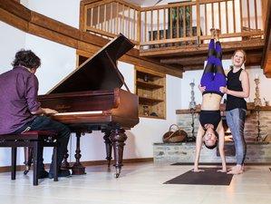 8-Daagse Live Piano Ski en Yoga Retreat in Frankrijk