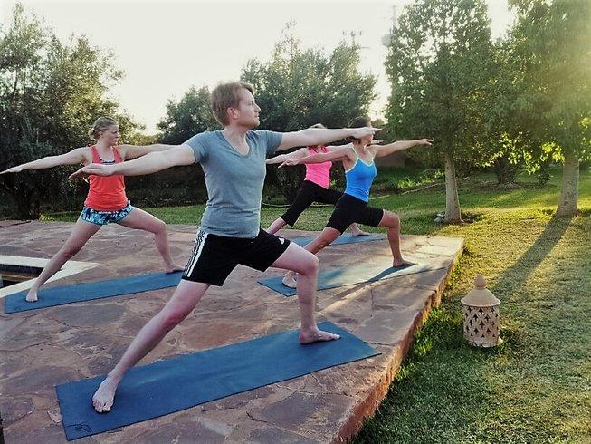 4 jours en stage de yoga à Marrakech, Maroc