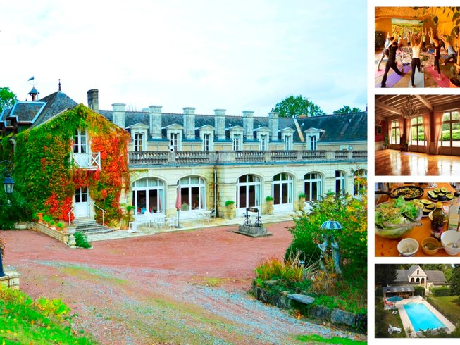4 Days Weekend Yoga and Detox Retreat in France