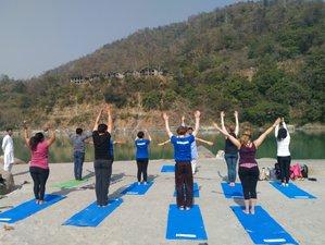 27 Day 200 Hour River Side Ashtanga Yoga Teacher Training in Rishikesh