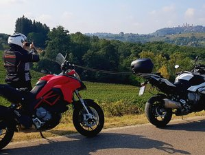 2 Day Cities of Tuscany Guided Motorcycle Tour in Volterra