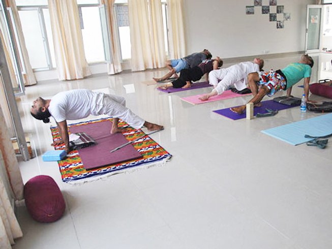 27 Days 200hr Yoga Teacher Training in Rishikesh, India