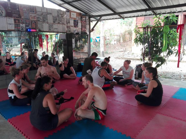 1 Month Muay Thai Training in Thailand