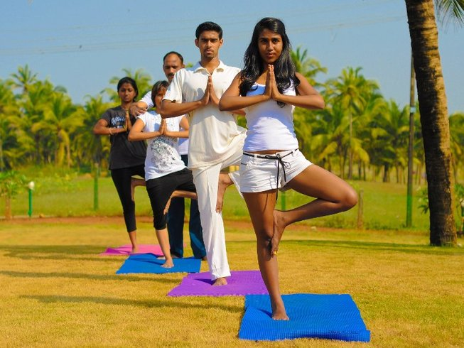 8 Days Beginner and Intermediate Yoga Retreat in Goa, India