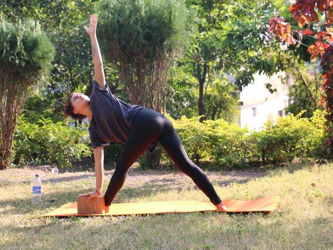 15 días curso de yoga espiritual (100 horas) en Rishikesh, India