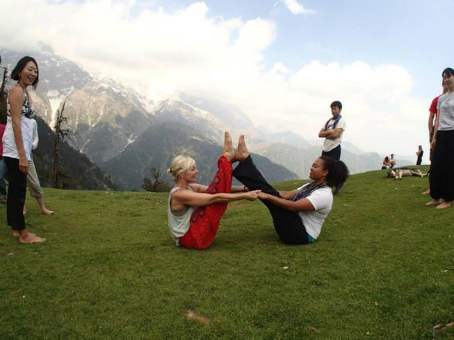 7-Daagse Beginners Yoga Retraite in Dharamsala, India