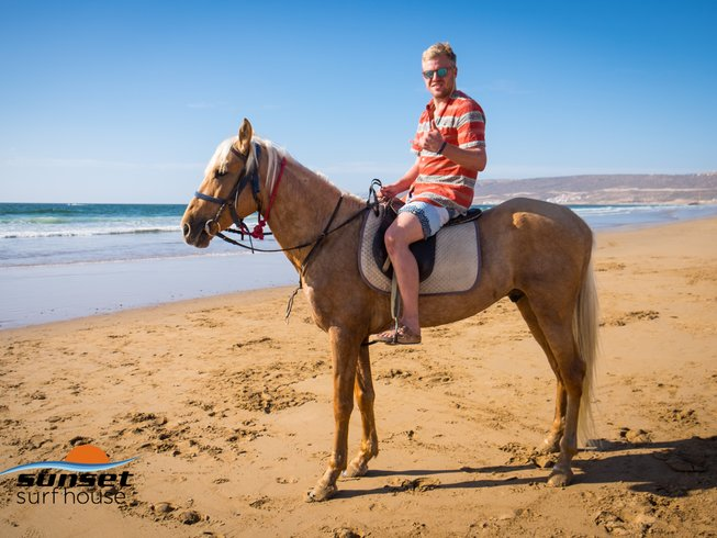 8 Days Sunset Yoga and Surf Camp in Tamraght, Morocco