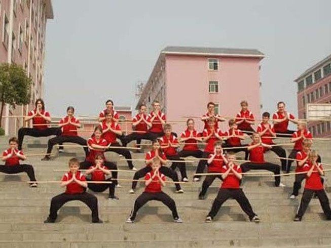 1 Year Wushu Instructor Training in Dengfeng, China