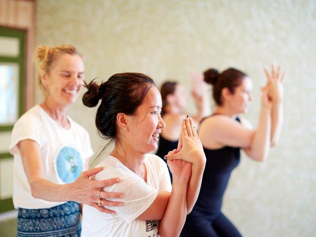 6 jours en retraite de yoga et méditation à Thanksgiving dans le Maine, États-Unis