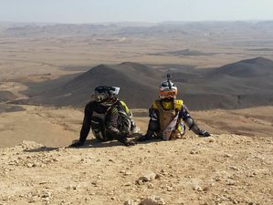 8 Days of Culture, Desert and History: Israel Crossing - a Guided Off- Road Enduro Tour