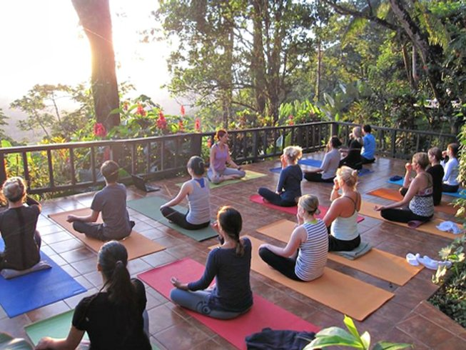 7 Days The Silent Warrior Yoga Retreat in Costa Rica