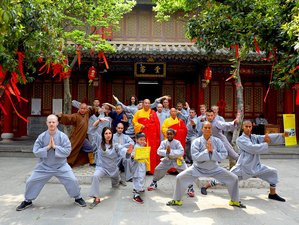 1 Month Authentic Shaolin Monk Training in Shaolin Temple Yunnan, China
