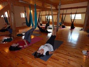 7 jours en stage de yoga aérien et randonnée dans la Drôme, France