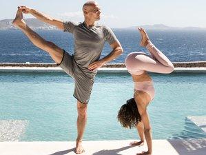 6 Day Luxury Ashtanga Yoga Retreat with Laruga Glaser and David Fredriksson in Mykonos