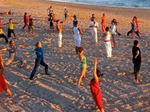 Summer Heart: 7 Days Yoga Retreat in Yurts by Beaches of Cadiz, Spain