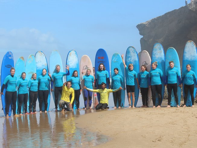 4 Days Breathtaking Surf Camp in Praia da Salema, Budens, Portugal