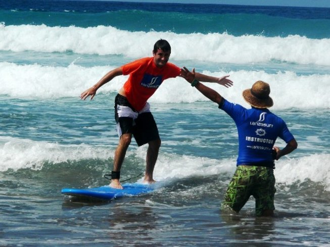 6 Days Surf Camp in Lanzarote, Spain