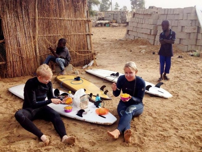 7 Days Beginner Surf Camp in NGor Island, Senegal