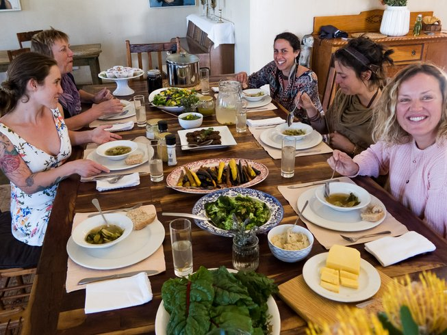 3 Days Raw Food Nature Yoga Retreat in Western Cape, South Africa