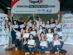 20 Days YogaFX International RYS 200 Yoga Teacher Training Academy in Bali, Indonesia