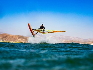 8 Day Cost-Effective Windsurfing Package for Beginners to Advanced Surfers in Naxos Island
