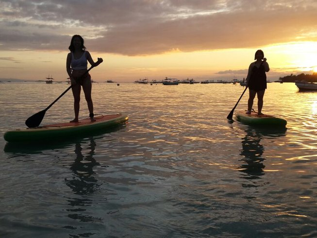 4 Days SUP Yoga Retreat in Beach Paradise, Philippines