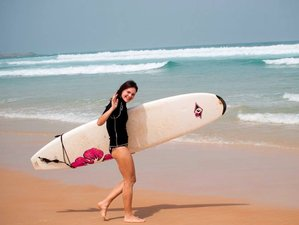 15 Days Beginners Surf Camp in Ngor Island, Dakar, Senegal
