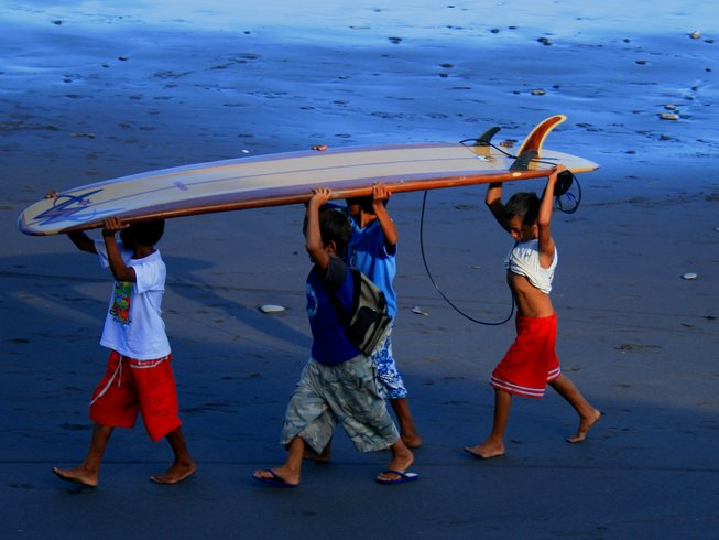 8-Daagse Familie Surf en Yoga Retraite in Hawaii