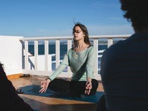 8 jours en stage de yoga relaxant au Portugal