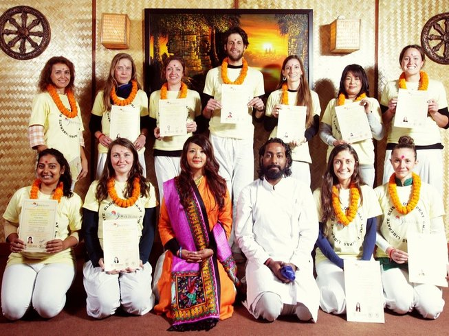 35-Daagse 300-urige Yoga Docententraining in India