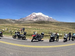 13 Day Guided Quito Loop Motorcycle Tour in Ecuador