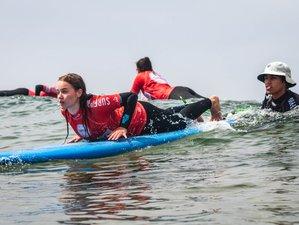 4 Tage Surfcamp und Entspannender Retreat in Costa da Caparica, Almada